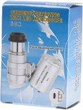 Карманный микроскоп с 60-кратным увеличением, с подсветкой, фото №4