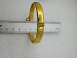 Браслет позолота Rolled Gold, фото №7
