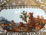 Блюдо.Мейсен.Ручная роспись с двумя китайцами, фото №3