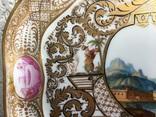 Блюдо.Мейсен.Ручная роспись с двумя китайцами, фото №6