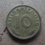 10 пфеннигов  1939 G Германия   (J.8.9)~, фото №2