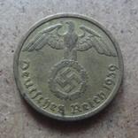 10 пфеннигов  1939 G Германия   (J.8.9)~, фото №3