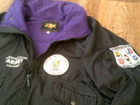 Теплая куртка на флисе разм.XL, фото №3