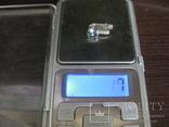 Серьга, серебро 1.7 грамм, 925 проба, фото №6