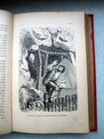 Книга *Робинзон Крузо* французский язык 15 иллюстраций. *Золотой обрез*., фото №11