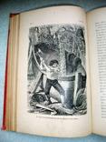 Книга *Робинзон Крузо* французский язык 15 иллюстраций. *Золотой обрез*., фото №12