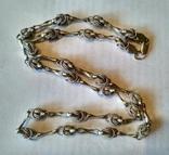 Цепочка 1 серебро, фото №2