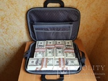 Сумка с деньгами 100$ Сувенирные деньги, Сувенірні гроші 100 $, фото №7