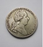 Талер 1783 Австрия, фото №2