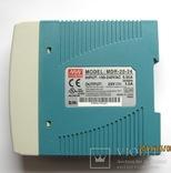 MDR-20-24 Блок питания 24В,1,7А,24Вт, фото №3