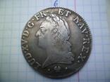 1 екю 1774 г. Людовик XV Франция (копия), фото №2
