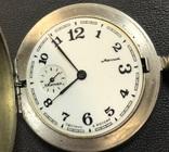 Рабочие карманные часы Молния. Киев, фото №9