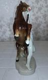 Конь и всадник. GH&CO. Германия, фото №9