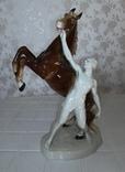 Конь и всадник. GH&CO. Германия, фото №2