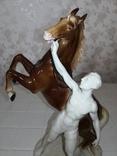 Конь и всадник. GH&CO. Германия, фото №13