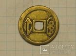 Китайская монета тип 2 копия, фото №2