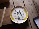 Сувенир тарелка Донецк мой город шахтер, фото №4