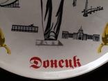 Сувенир тарелка Донецк мой город шахтер, фото №9