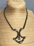 Серебряное украшение в этно стиле., фото №3