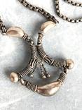 Серебряное украшение в этно стиле., фото №6