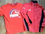 Puma - мастерка + футболка, фото №3