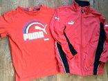 Puma - мастерка + футболка, фото №5