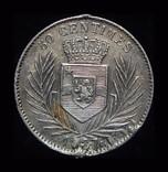 Бельгийское Конго 50 сантим 1887 серебро, фото №2