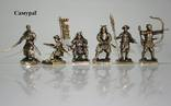 Набор Самураи (Японская армия 16 век -8шт), фото №4