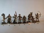 Набор Самураи (Японская армия 16 век -8шт), фото №2