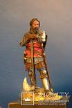 Средневековый рыцарь авторская работа 54 мм, фото №3