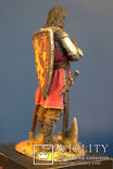 Средневековый рыцарь авторская работа 54 мм, фото №5