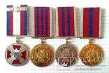 Police troops medal UKRAINE gendarmerie SWAT SEK Polizei Truppen = 4 медали ВВ МВД, фото №2