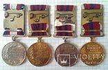 Police troops medal UKRAINE gendarmerie SWAT SEK Polizei Truppen = 4 медали ВВ МВД, фото №4