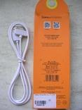 Кабель USB Hoco X1 Rapid Charging Cable Dock iPhone 4 Cable White, фото №4