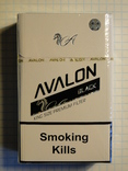 Сигареты AVALON BLACK фото 1