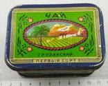 Коробочка Грузинский Чай Главчай Литография г. Калуга, фото №2