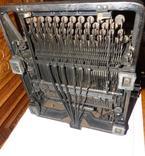Старинная Печатная машинка  - Германия - Triumph Standard 14 typewriter, фото №3