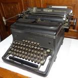 Старинная Печатная машинка  - Германия - Triumph Standard 14 typewriter, фото №4