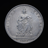 Победный Талер 1871, Пруссия, фото №2