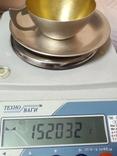 Чашка и Блюдце, серебро 875*