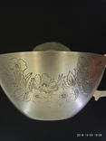 Чашка и Блюдце, серебро 875* фото 2