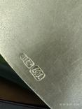Чашка и Блюдце, серебро 875* фото 3