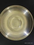Чашка и Блюдце, серебро 875* фото 4
