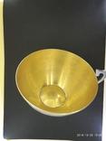 Чашка и Блюдце, серебро 875* фото 8