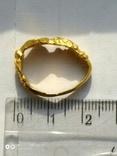Золотой перстень 15-16 век, фото №8