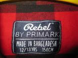 Рубашка Rebel 12-13 лет., фото №4