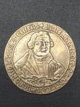 Mansfeld-Eisleben, 3/4 schauthaler 1661 - Martin Luther, фото №2
