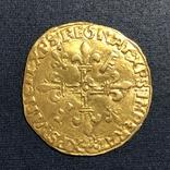 Франція, екю, 1519 р., фото №3