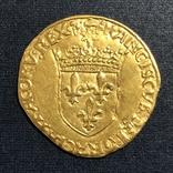Франція, екю, 1519 р., фото №2
