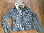 Джинсовая стильная куртка, фото №2